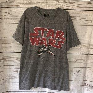 Star Wars heather gray graphic T-shirt